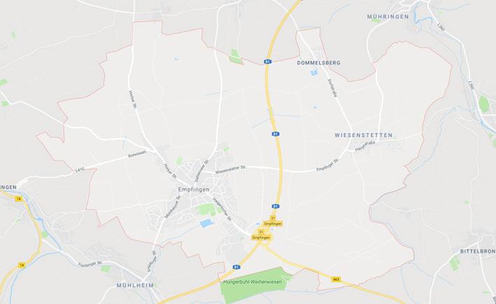 Kurierdienst Empfingen Tema Transportlogistik Google Maps