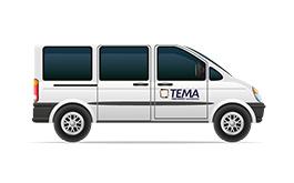 Tema Transportlogistik Kurierdienst Furhpark Personenbeförderung