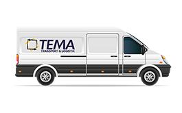 Tema Transportlogistik Kurierdienst Fuhrpark Transporter