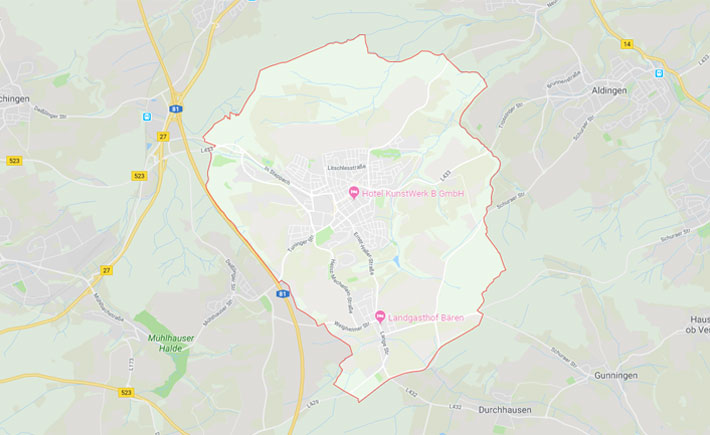 Kurierdienst Trossingen Tema Transportlogistik Google Maps