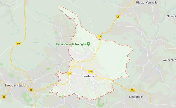Kurierdienst Dornstetten Tema Transportlogistik Google Maps