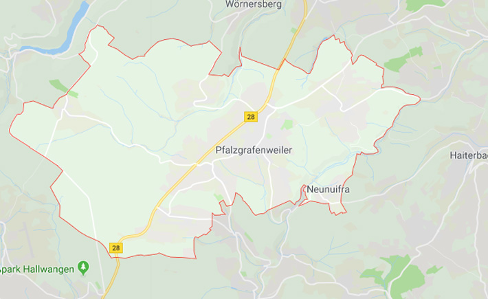 Kurierdienst PfalzgrafenweilerTema Transportlogistik Google Maps