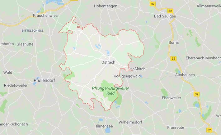 Kurierdienst Ostrach Tema Transportlogistik Google Maps