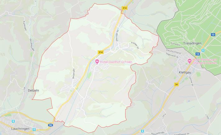 Kurierdienst Wutöschingen Tema Transportlogistik Google Maps