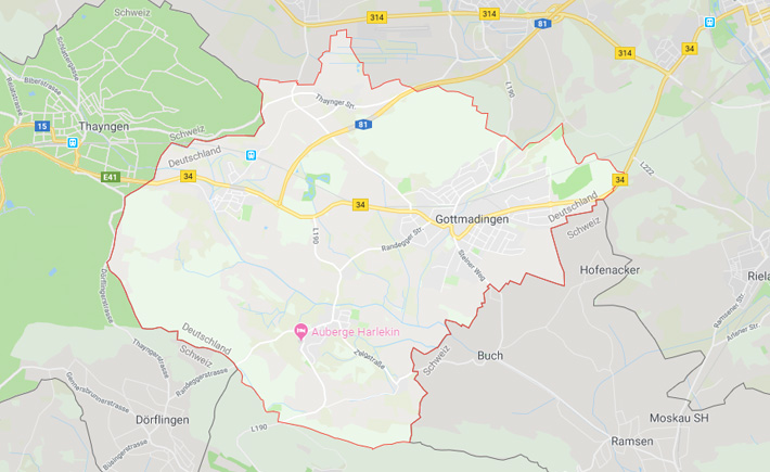 Kurierdienst Gottmadingen Tema Transportlogistik Google Maps