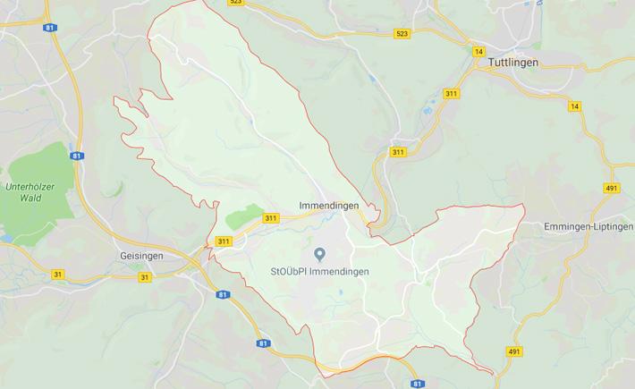 Kurierdienst Immendingen Tema Transportlogistik Google Maps